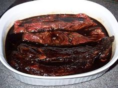 Wall's T-Bone Steak Marinade Recipe. Simple marinade, and was delicious. I'd use this on any steak! Elk Recipes, Venison Recipes, Cooking Recipes, Game Recipes, T Bone Steak Marinade, Steak Marinade Recipes, Venison Marinade, Elk Steak, Barbacoa
