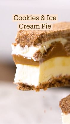 Fun Baking Recipes, Pie Recipes, Sweet Recipes, Cookie Recipes, Dessert Recipes, Frozen Desserts, Just Desserts, Delicious Desserts, Yummy Food