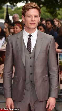 Heartthrob: James Norton at a premiere in 2014