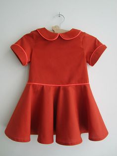 Tinny dress pattern sizes 1 year  6 years by StraightGrainPattern, $8.00