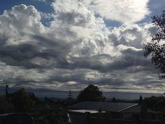 Asperatus cloud over West Auckland. January 2014.