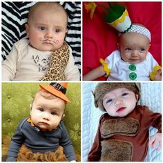 I adore these creative DIY baby costumes.