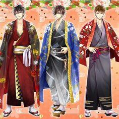 Nobunaga, Masamune, Yukimura - Ikemen Sengoku