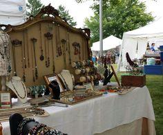 Outdoor craft fair-Waunafest 2014