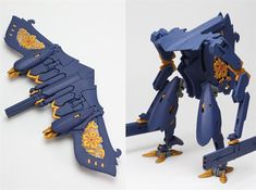 3ders.org - Japanese artist creates awesome 3D printed transforming robot 'Stingray' | 3D Printer News & 3D Printing News