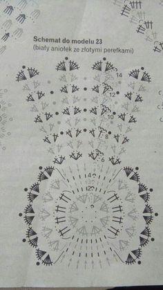 Image Article – Page 366128644691603004 – SkillOfKing.Com - Her Crochet Crochet Christmas Ornaments, Christmas Crochet Patterns, Christmas Angels, Christmas Crafts, Crochet Angels, Crochet Winter, Crochet Motif, Xmas Decorations, Doilies