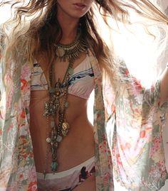 Kimono Boho style #bohemian ☮k☮ #boho