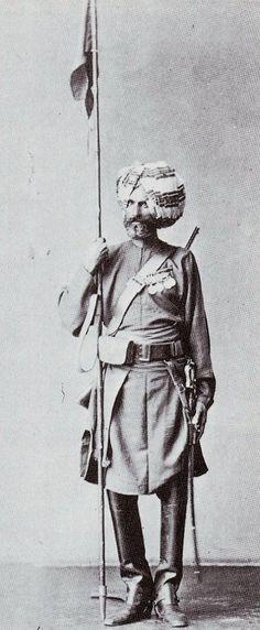 Sowar, 11th Bengal Lancers, 1886