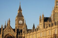 Houses of Parliament is the center of government. Big Ben is not the clock nor the tower - it's the BELL inside!  It's St. Stephen'sTower.