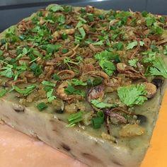 Steamed yam cake #orr#kuih