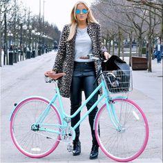 Bike Pink Girl City