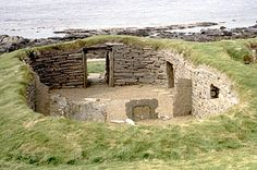 Knap o' Howar, Papay, Orkney Islands, Scotland Neolithic dwellings, used from 3600 BCE - 2800 BCE.
