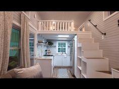 Luxurious Tiny House With A Split Level Floor Plan - Kitchen! Kitchen! Beautiful Kitchen!