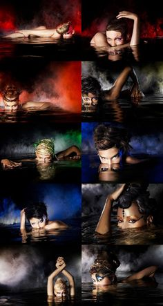 Love photography... cool concept for a photo! ANTM Photos BY NIGEL BARKER #antm #photoshoot #modeling