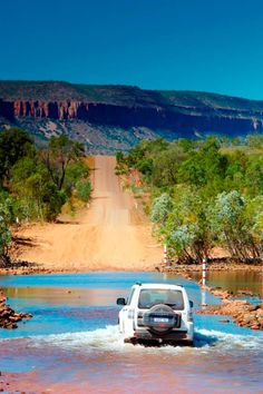 Flooding in the wet season - El Questro Wilderness Park, Kununurra, Western Australia
