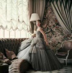 Sophie Malgat - Photographs by Mark Shaw - Dior Glamour