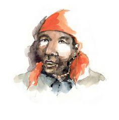 A Korzok, Carnet de voyage au Ladakh - Delphine Priollaud-Stoclet