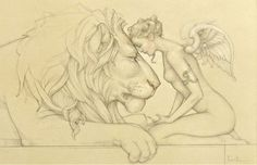 "lion's meditation michael parkes | Michael Parks ""Lion's Meditation"""