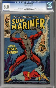 We just got this awesome book in: Sub-Mariner #5  C...    http://coloradocomics.com/products/sub-mariner-5-cgc-8-0?utm_campaign=social_autopilot&utm_source=pin&utm_medium=pin