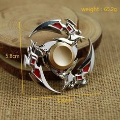 Unique Hand Finger Metal Fidget Spinner