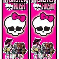 Printable Monster High Bookmarks - FreePrintable.com