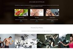 HOTFIT - Hotel and Fitness Template by www.ThemeStreet.Net on @creativemarket