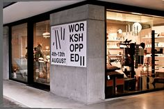 workshopped...fab design store in sydney