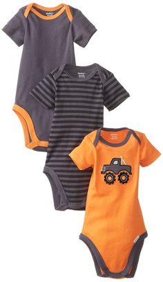 Amazon.com: Gerber Baby-Boys Newborn Bodysuit Three-Pack: Clothing $5.99