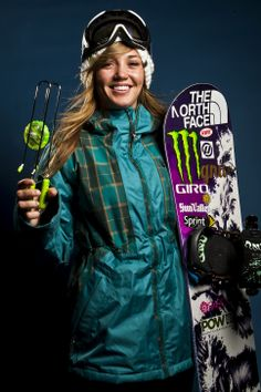 Snowboarding halfpipe athlete Kaitlyn Farrington. (Chris Detrick     The Salt Lake Tribune)