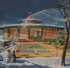 mid-century summer dream | The Johnsons' Mid-Century Time Travel Guide #midcentury #spaceage #thejohnsons