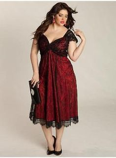 Curvy Women-love this dress for a special occasion