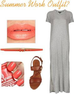 """""""possible summer work outfit"""" by dramakwene on Polyvore"""