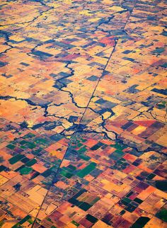 Sometimes the real beauty its from above #iloveinformacion #data Patchwork by Sam Assadi, via 500px