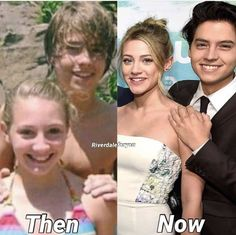 Is this photoshopped, or did they genuinely know each other before Riverdale? Seriously, if someone knows, please tell me - I think it's just a random girl cole knew, but I hopeeeee it's lili! Riverdale Netflix, Bughead Riverdale, Riverdale Funny, Riverdale Memes, Riverdale Movie, Betty Cooper, Archie Comics, Zack Et Cody, Calin Couple