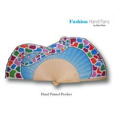 Hand Fan Dreams of Gaudi.   Abanico, Éventail, Fächer, Leque, Ventaglio