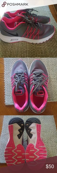 Nike air shoes Worn a few times around the house nike air tennis shoes Nike Shoes Athletic Shoes
