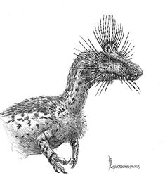 Cryolophosaurus ellioti by ~dustdevil on deviantART