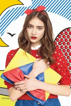 The Terrier and Lobster: RED Valentino Fall 2014: Pop Art Disney Snow White