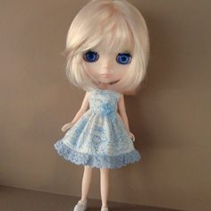 Cute Peter Rabbit Dress for Blythe by myfairdolly on Etsy, $14.00