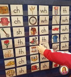 Dollar Deals for Your Classroom Digraphs Pocket Chart Sort Kindergarten Literacy Stations, Kindergarten Learning, Literacy Centers, Numbers Kindergarten, Learning Time, Activity Centers, Learning Tools, Learning Centers, Abc Phonics
