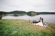 Bohemian Seaside Elopement Photography - Rosario Head / Deception Pass