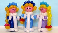Снегурочка из шаров / Snow Maiden of balloons (Subtitles)
