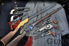 Gun Test: Classic Civil War Rifles & Revolvers - Guns of the Old West