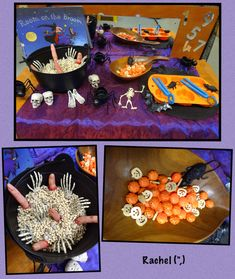 """Halloween - Stimulating Learning Halloween Finger Gym fun from Rachel ("""",) Halloween Potions, Halloween Math, Halloween Projects, Halloween Themes, Halloween Craft Activities, Autumn Activities, Autumn Crafts, Holiday Crafts, Harvest Festival Crafts"""