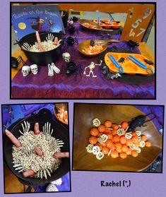 "Halloween - Stimulating Learning Halloween Finger Gym fun from Rachel ("",) Halloween Week, Halloween Potions, Halloween Math, Halloween Projects, Halloween Themes, Halloween Decorations, Halloween Craft Activities, Autumn Activities, Harvest Festival Crafts"