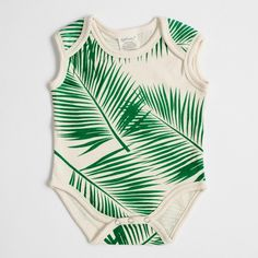 Organic Cotton Bodysuit - Tropical – SoftBaby