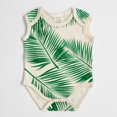 Organic Cotton Bodysuit - Tropical – SoftBaby