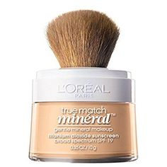 Foundation For Sensitive Skin, Mineral Foundation, Cosmetics Ingredients, L'oréal Paris, Loose Powder, Brown Skin, Sun Protection, Active Ingredient