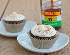 White Mocha Cupcakes recipe for 4 cupcakes....Perfect! Less cupcakes for me to eat in 1 sitting :)
