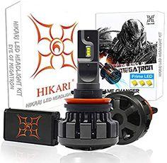 Amazon.com: HIKARI Ultra LED Headlight Bulbs Conversion Kit -H11(H8,H9), Prime LED 12000lm 6K Cool White: Automotive
